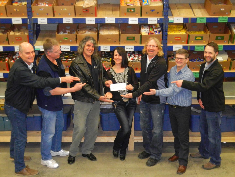 Domtar Kamloops Mill Donates Reward to Food Bank