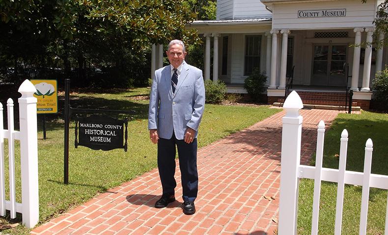 Bill Kinney of Bennettsville, South Carolina