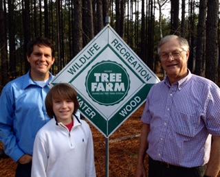 landowners Randell Ewing Jr. Hartsville South Carolina