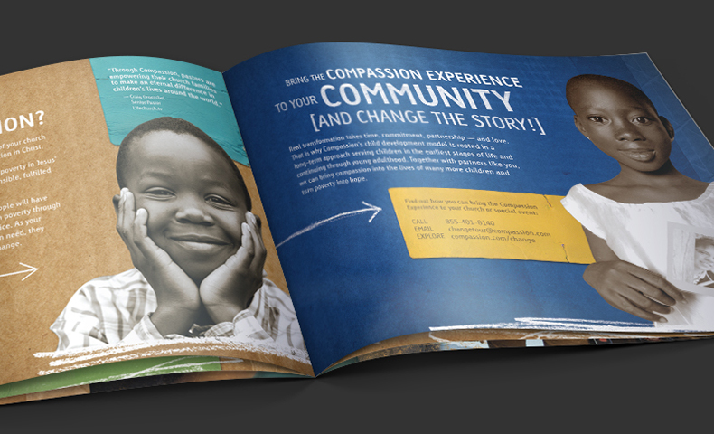 in-plant printing at Compassion International