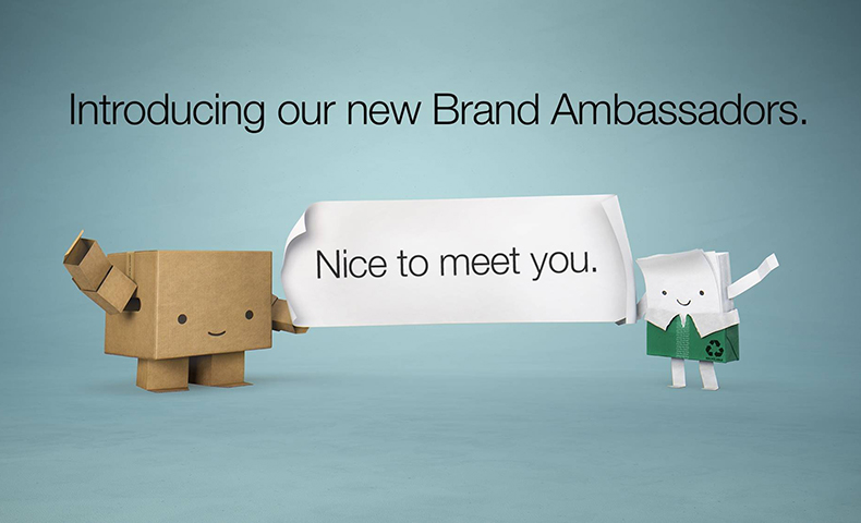 brand ambassadors for Paper and Packaging Board