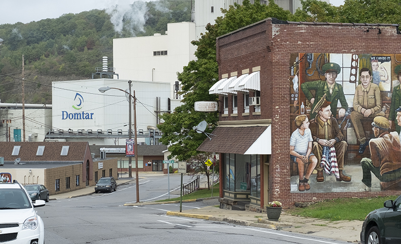 Johnsonburg Pulp and Paper Mill helped shaped this Pennsylvania town