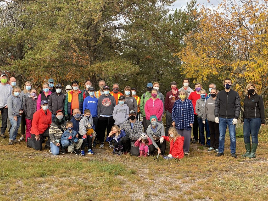 2020 year-end review Dryden Lions park