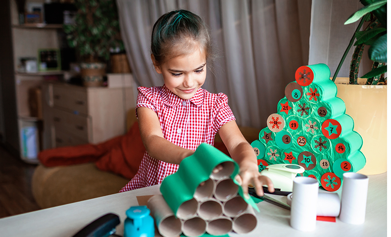 paper crafts create holiday magic